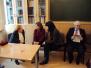 Spotkanie z profesor Marią Składankową - zakończenie zajęć dydaktycznych na UW, 21.01.2014