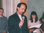 Uroczystość wręczenia Medalu Uniwersytetu Warszawskiego Kawemu Pur Rahnama, 18.05.2006